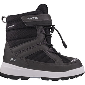 Viking Footwear Playtime GTX Botas Invierno Niños, charcoal/black